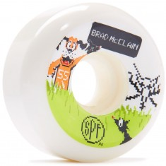 Bones SPF McClain Duck Hunt P5 Skateboard Wheels - 55mm