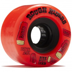 Bones Rough Riders Shotgun Skateboard Wheels - Red - 59mm
