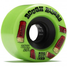 Bones Rough Riders Shotgun Skateboard Wheels - Green - 59mm