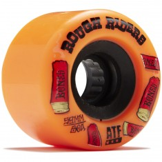 Bones Rough Riders Shotgun Skateboard Wheels - Orange - 59mm