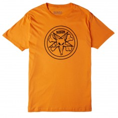 Bones Petagram T-Shirt - Orange