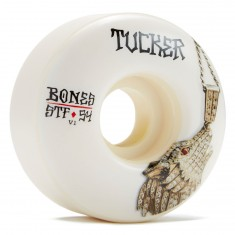 Bones STF Tucker Wolf Chain V1 Skateboard Wheels - 54mm