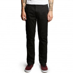 Altamont A/969 Slim Straight Chino Pants - Black