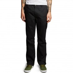 Altamont A/989 Straight Chino Pants - Black