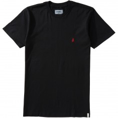 Altamont Micro Embroidery T-Shirt - Black/Red