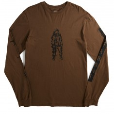 Altamont Burning Man Longsleeve T-Shirt - Tobacco