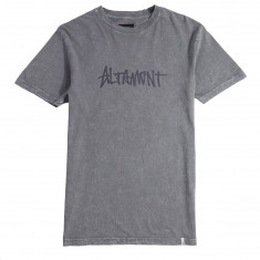 Altamont One Liner Wash T-Shirt - Grey