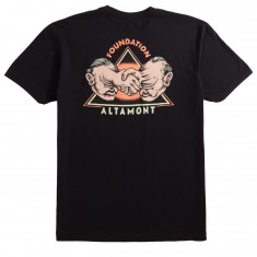Altamont X Foundation Servold Deal T-Shirt - Black