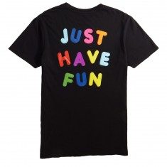 Just Have Fun Hold Up T-Shirt - Black