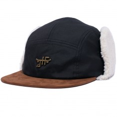 Just Have Fun Mammoth 5 Panel Hat - Black