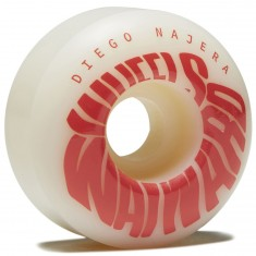 Wayward Adjuster Diego Skateboard Wheels - Grey/Salmon - 52mm