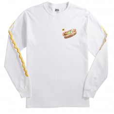 Skate Mental Chicago Dog 2.0 Longsleeve T-Shirt - White