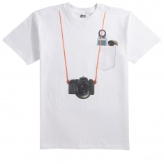 Skate Mental Staba Photo Pocket T-Shirt - White