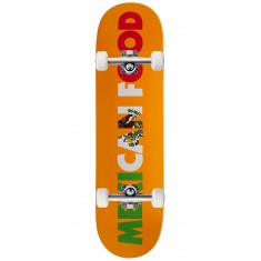 Skate Mental Mexican Food Skateboard Complete - 8.25""