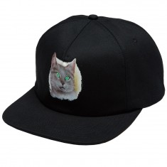 Skate Mental Tourist Cat Hat - Black