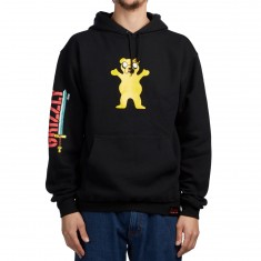 Grizzly X Adventure Time Homies Help Homies Hoodie - Black