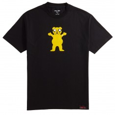 Grizzly X Adventure Time Homies Help Homies T-Shirt - Black