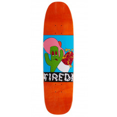"""Tired Cactus Popsicle On Chuck Skateboard Deck - 8.625"""""""