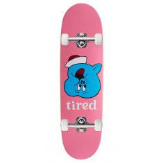 Tired Pig Upside Down Face On Joel Skateboard Complete - 8.625""