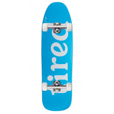 Tired Lowercase Logo On Stumpnose Skateboard Complete - 9.00""