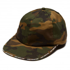 Just Have Fun In The Cut Strapback Hat - Camo