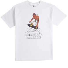 Skate Mental Wallridah T-Shirt - White