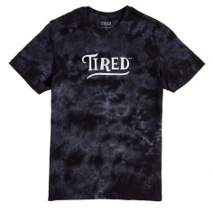 Tired Swoop T-Shirt - Black