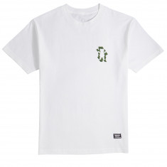 Grizzly Leaf Cutout T-Shirt - White