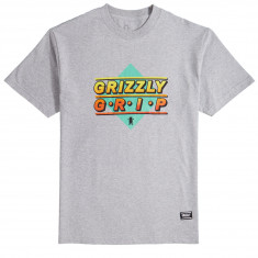 Grizzly Outfield T-Shirt - Grey Heather
