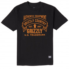 Grizzly Country T-Shirt - Black
