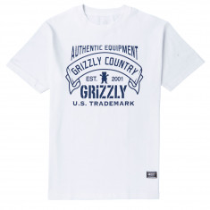 Grizzly Country T-Shirt - White