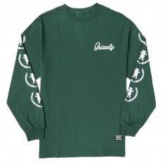 Grizzly Premiere Long Sleeve T-Shirt - Forest Green