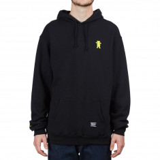 Grizzly OG Bear Embroidered Hoodie - Black