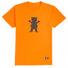 Grizzly Safety Bear T-Shirt - Safety Orange