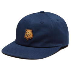 Grizzly Bear Strapback Hat - Navy 3f8c05aad930