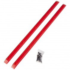 Powell-Peralta Rib Bones Rails - Red