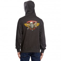 Powell-Peralta 40th Anniversary Winged Ripper Hoodie - Charcoal