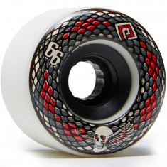 Powell Peralta Snakes Longboard Wheels - White - 69mm 75a