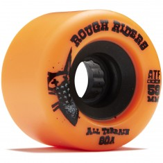 Bones Rough Riders Skateboard Wheels - Orange - 59mm