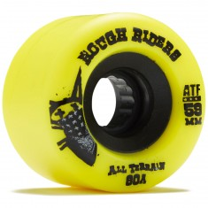 Bones Rough Riders Skateboard Wheels - Yellow - 59mm