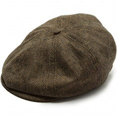 Brixton Brood Snap Hat - Brown/Khaki