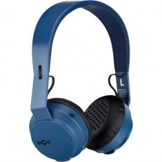 House Of Marley Rebel BT Headphones - Blue