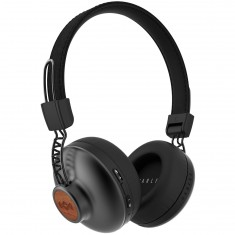 House Of Marley Positive Vibration BT Headphones - Black