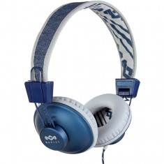 House of Marley Positive Vibration Headphones - Denim