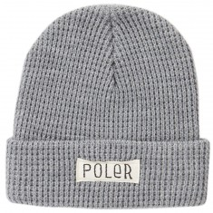 Poler Workerman Beanie - Light Grey Heather
