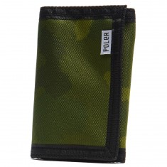 Poler Tri-Fold Wallet - Green Furry Camo