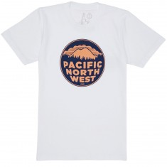 Casual Industrees PNW 2 Color T-Shirt - White