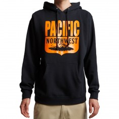 Casual Industrees PNW Shield Hoodie - Navy Blue