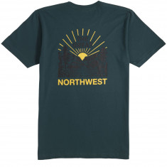 Casual Industries Squatch Valley T-Shirt - Forest Green