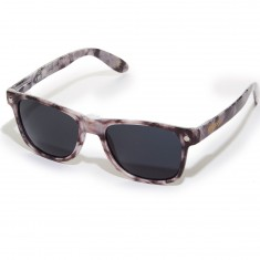 Glassy Leonard Sunglasses - Navy/Transparent Red